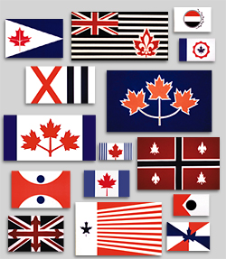 canadian_flags_1964